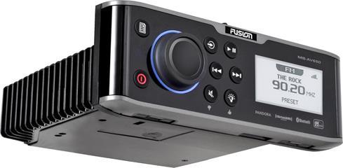 FUSION MS-AV650 marine DVD receiver