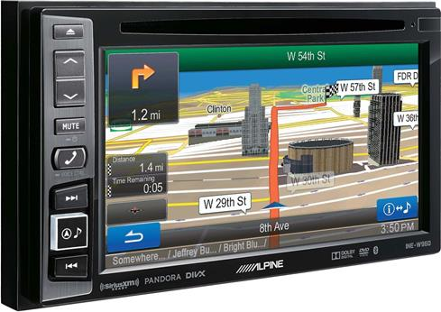 Alpine INE-W960 navigation receiver