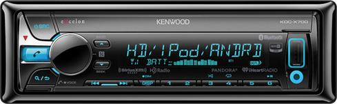 Kenwood Excelon KDC-X700 CD receiver