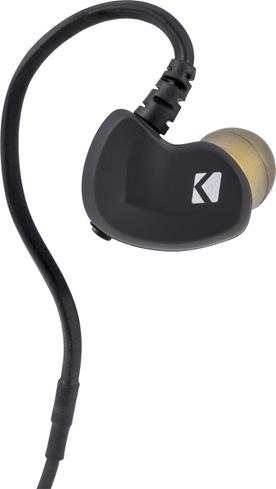 Kicker EB300 Bluetooth headphones close-up