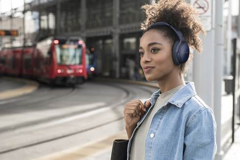 The Bose QuietComfort 35 wireless headphones