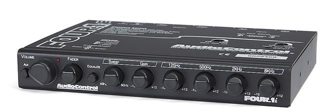 AudioControl THREE.2 InDash Pre-Amp Line Driver and Four ...