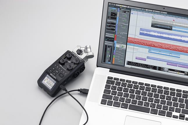 Computer recording with a handheld recorder