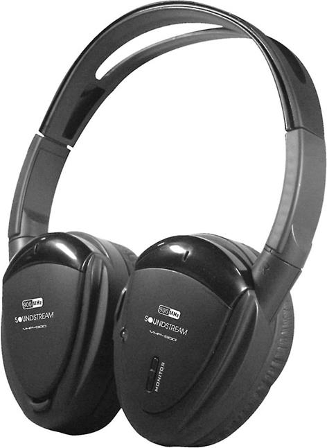 Soundstream VHP-12 infrared wireless headphones