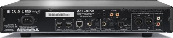 Cambridge Audio CXN back panel