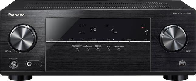 Pioneer VSX-530 5-channel home theater receiver