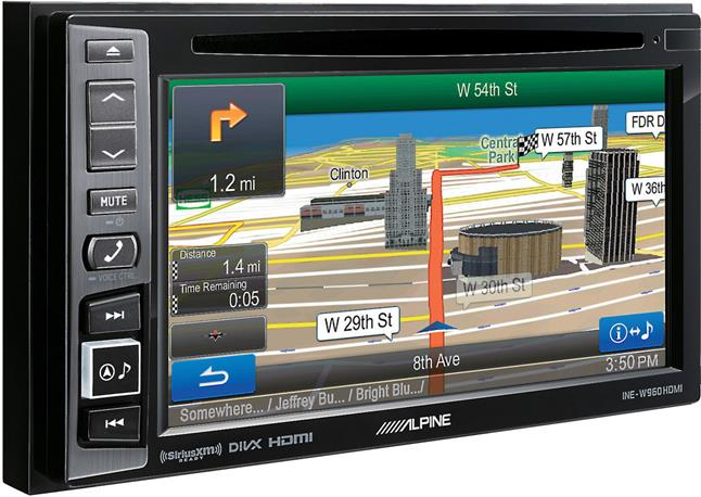 Alpine INE-W960HDMI navigation receiver