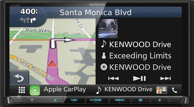 Kenwood Excelon DNX994S navigation receiver