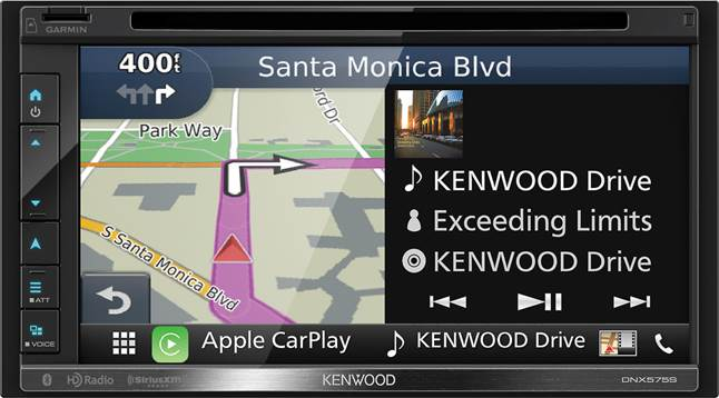 Kenwood DNX575S navigation receiver