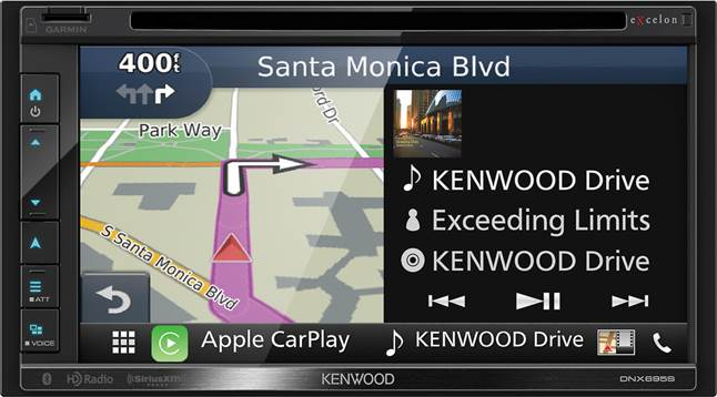 Kenwood Excelon DNX695S navigation receiver