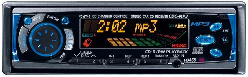 Aiwa CDC-MP3 CD receiver