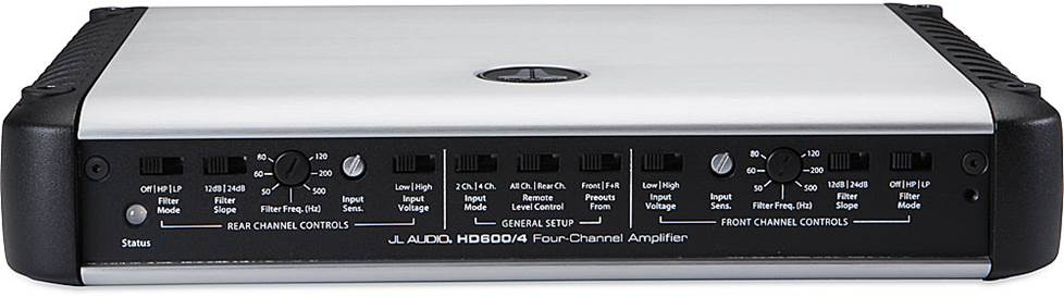 JL Audio's HD600/4 4-channel car amplifier
