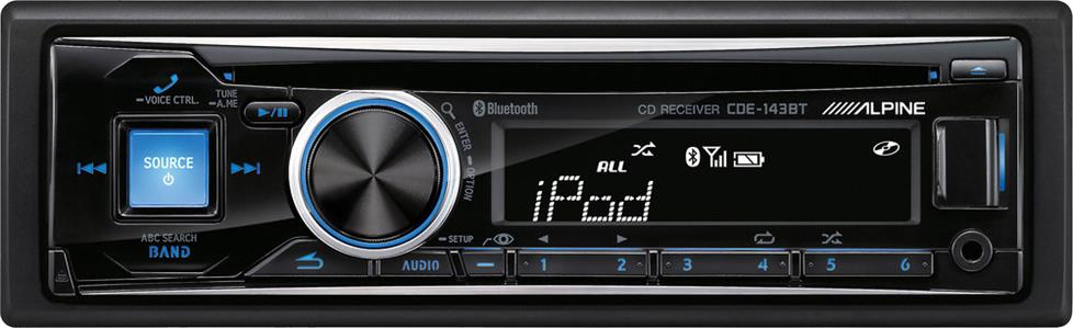 Alpine CDE-143BT CD receiver