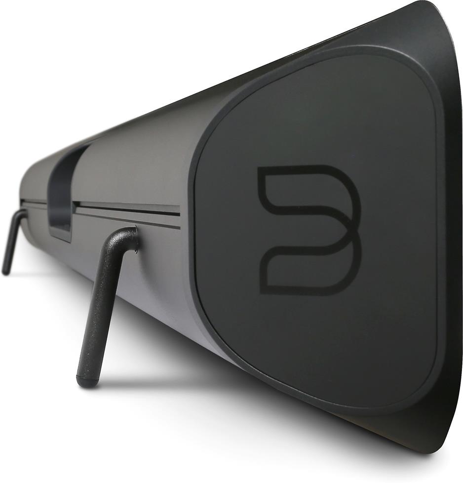 Side view of the Bluesound Pulse Sound bar