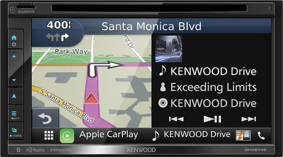 Kenwood DNX574S navigation receiver