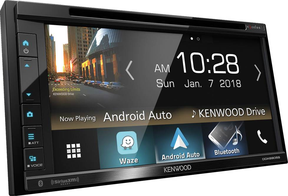 Kenwood Excelon DDX6905 DVD receiver