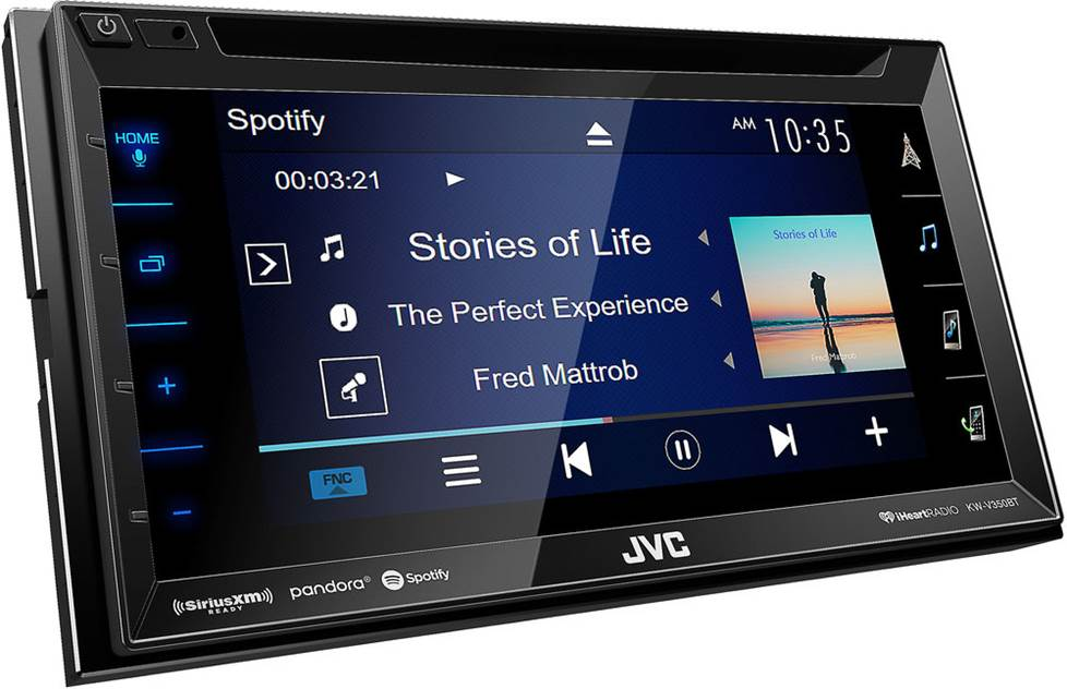 JVC KW-V350BT DVD receiver