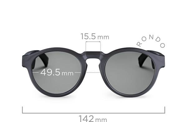 Bose Frames dimensions