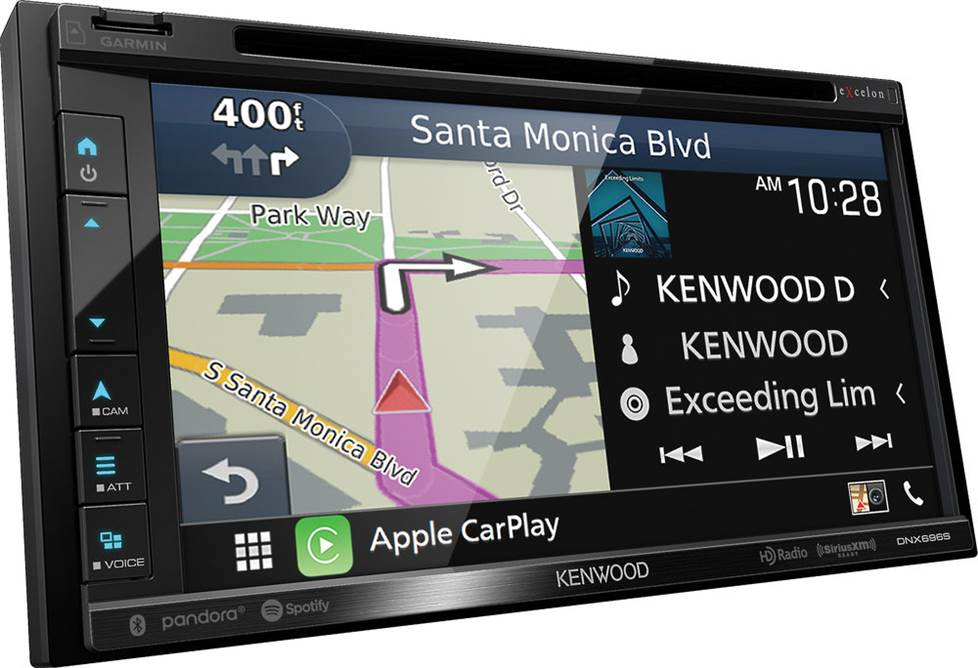 Kenwood Excelon DNX696S navigation receiver