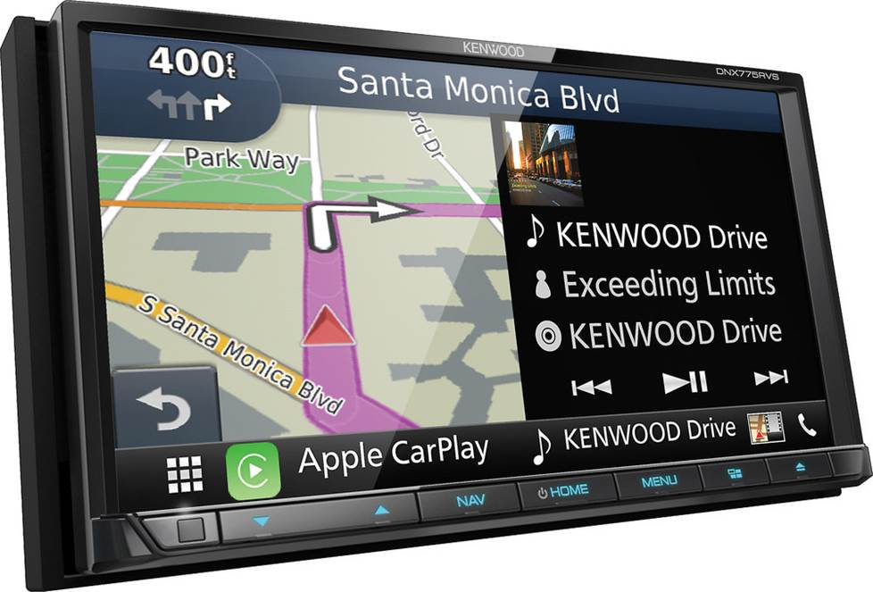 Kenwood DNX775RVS navigation receiver