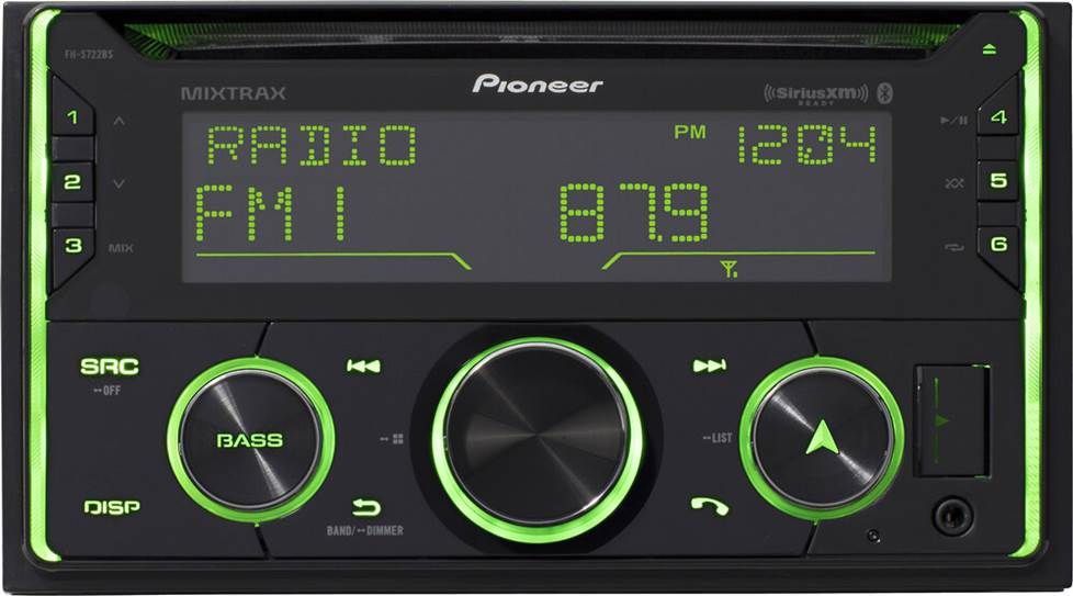 Pioneer FH-S722BS CD receiver