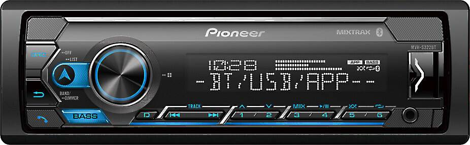 Pioneer MVH-S322BT digital media receiver
