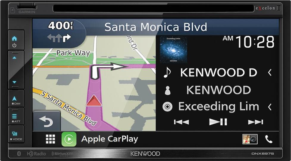 Kenwood Excelon DNX697S navigation receiver