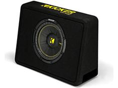 select Kicker car audio gear