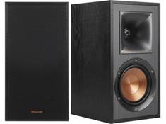 on a pair of Klipsch Reference R-51M bookshelf speakers
