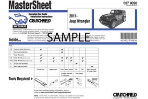 Crutchfield Car Audio Installation Instructions