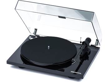 on a Pro-Ject Essential III turntable