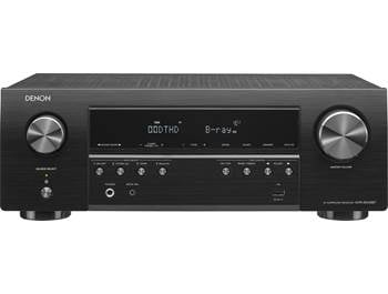 on a Denon AVR-S540BT 5.2-channel home theatre receiver