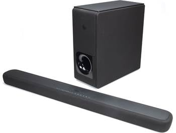 on a Yamaha YAS-209 sound bar