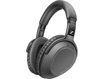 on Sennheiser wireless headphones