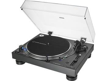 on Audio-Technica turntables