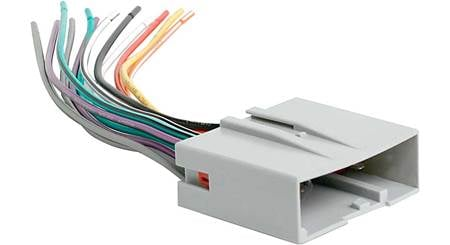 Metra 70-5520 Receiver Wiring Harness