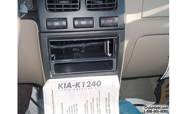 American International KIA-K1240 Dash Kit Research photo: Kia