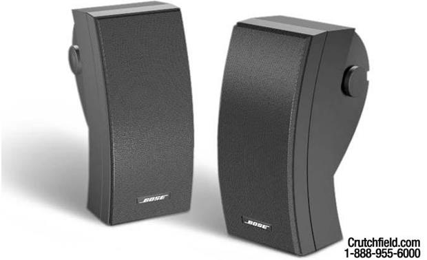 Bose® 251® environmental speakers Black finish