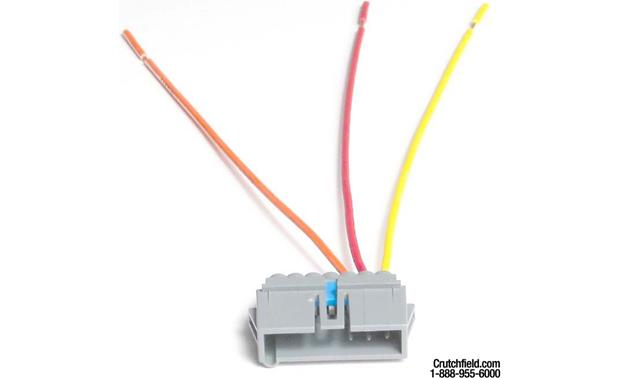 Metra 70-1470C Receiver Wiring Harness Front