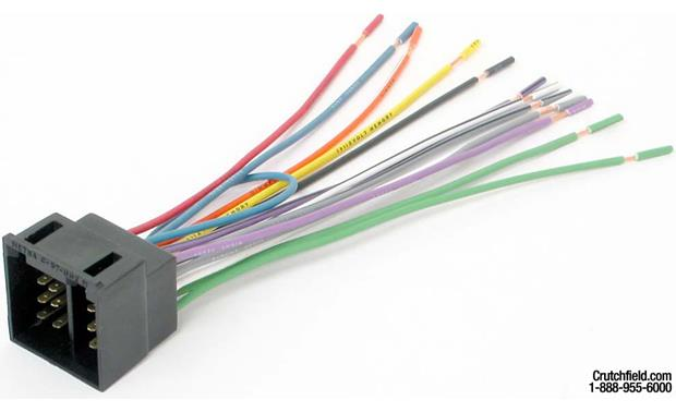 Metra 70-1758 Receiver Wiring Harness