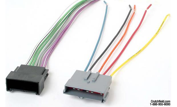 Metra 70-5008 Receiver Wiring Harness Front
