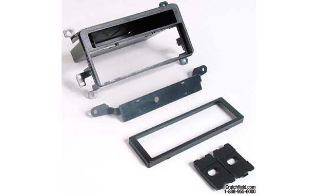 Scosche TA2047B Dash Kit Kit package with bezel, brackets, and trim plate