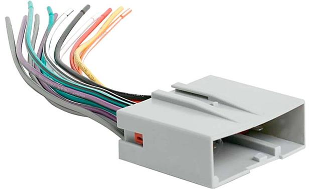 Metra Receiver Wiring Harness Connect A New Car Stereo In - Crutchfield car wiring diagram