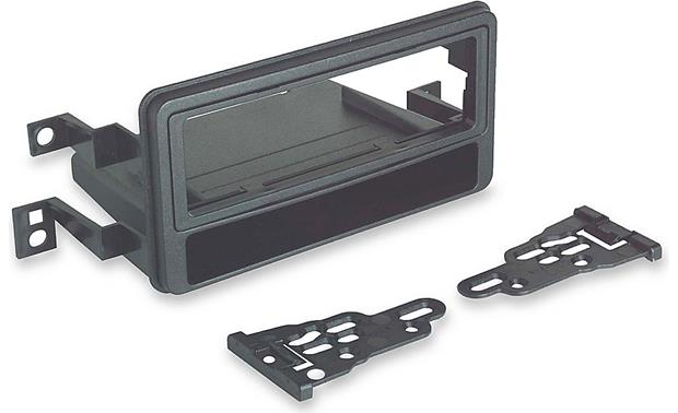 Metra 99-8207 In-dash Receiver Kit Kit package with brackets, bezel, and pocket
