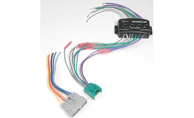 Scosche CFDK6 Wiring Interface