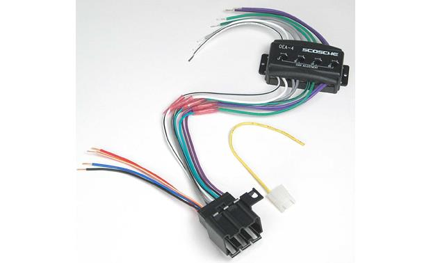 Scosche CGM01 Wiring Interface Front