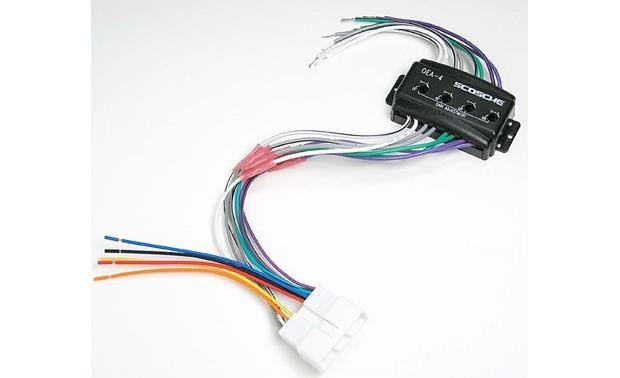 Scosche CHA02 Wiring Interface Front