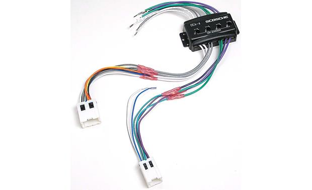 Scosche cnn03 wiring interface allows you to connect a new car on scosche wiring harness color code diagram Kenwood Wiring Harness Colors Scosche Wiring Harness for Ford