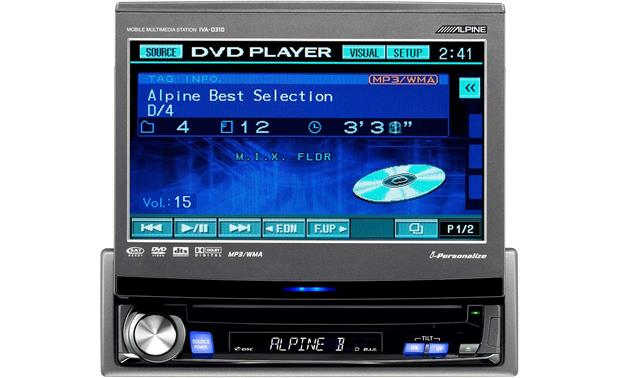 Alpine Iva  Cd Receiver With 7 U0026quot  Lcd Monitor At