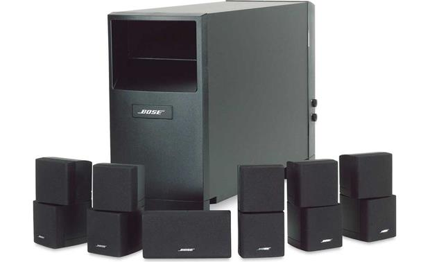 Bose® Acoustimass® 16 Series II home entertainment speaker system Front